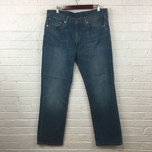 Levi's 514 straight fit jeans 36x32